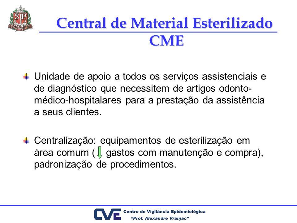 Unidade de apoio a todos os serviços assistenciais e de diagnóstico que necessitem de artigos odonto- médico-hospitalares para a prestação da assistên