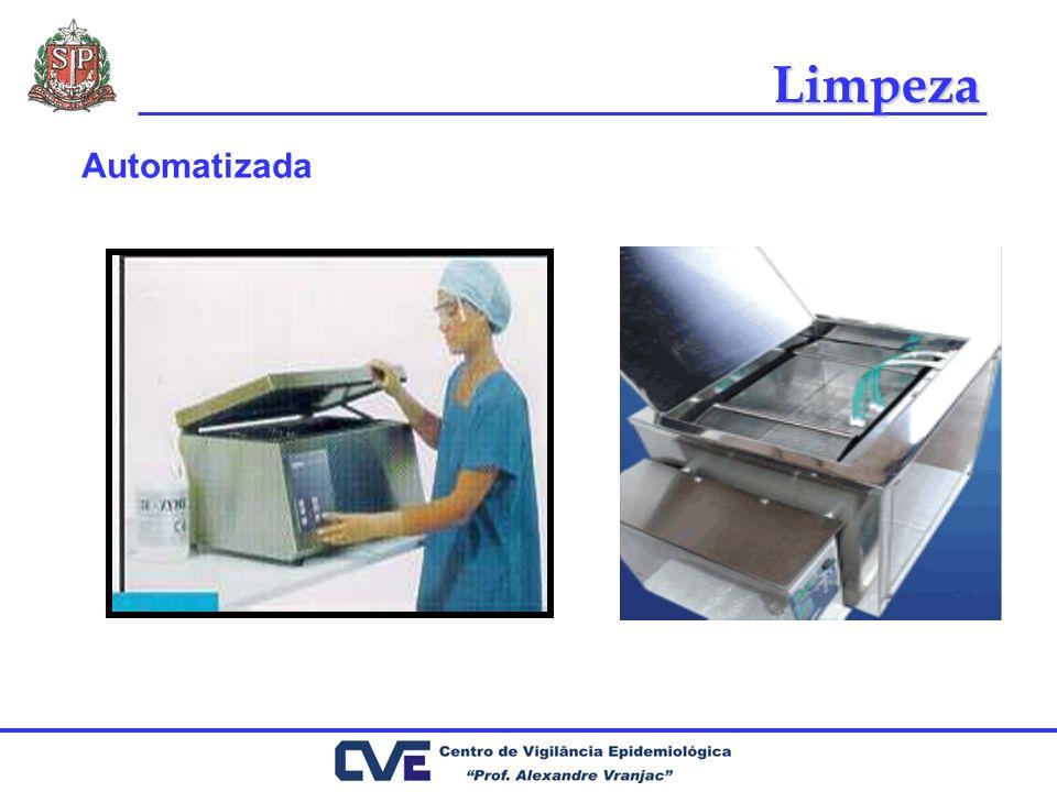 Cuidados com materiais Reprocessar entre usos no mesmo paciente com a periodicidade indicada Reprocessar entre pacientes Utilizar técnica e soluções padronizadas Utilizar E.P.I.