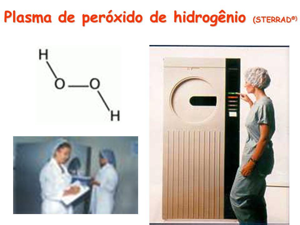 Plasma de peróxido de hidrogênio (STERRAD ®)