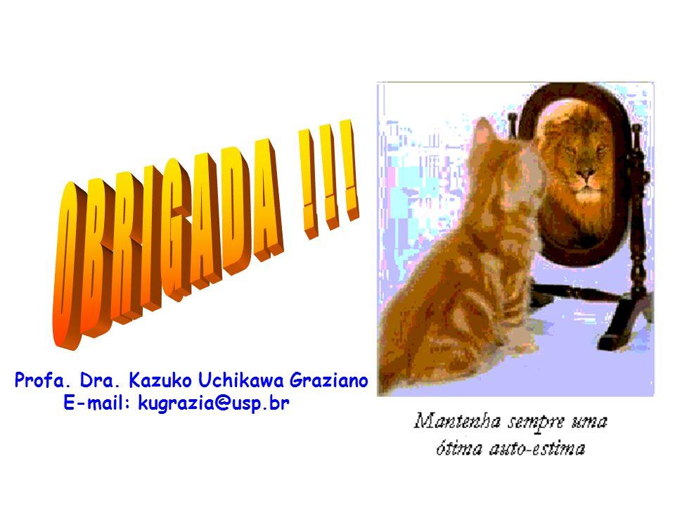 Profa. Dra. Kazuko Uchikawa Graziano E-mail: kugrazia@usp.br