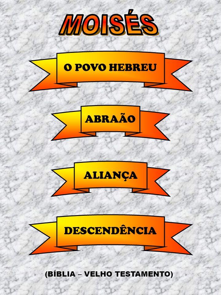 ABRAÃO ALIANÇA DESCENDÊNCIA O POVO HEBREU (BÍBLIA – VELHO TESTAMENTO)