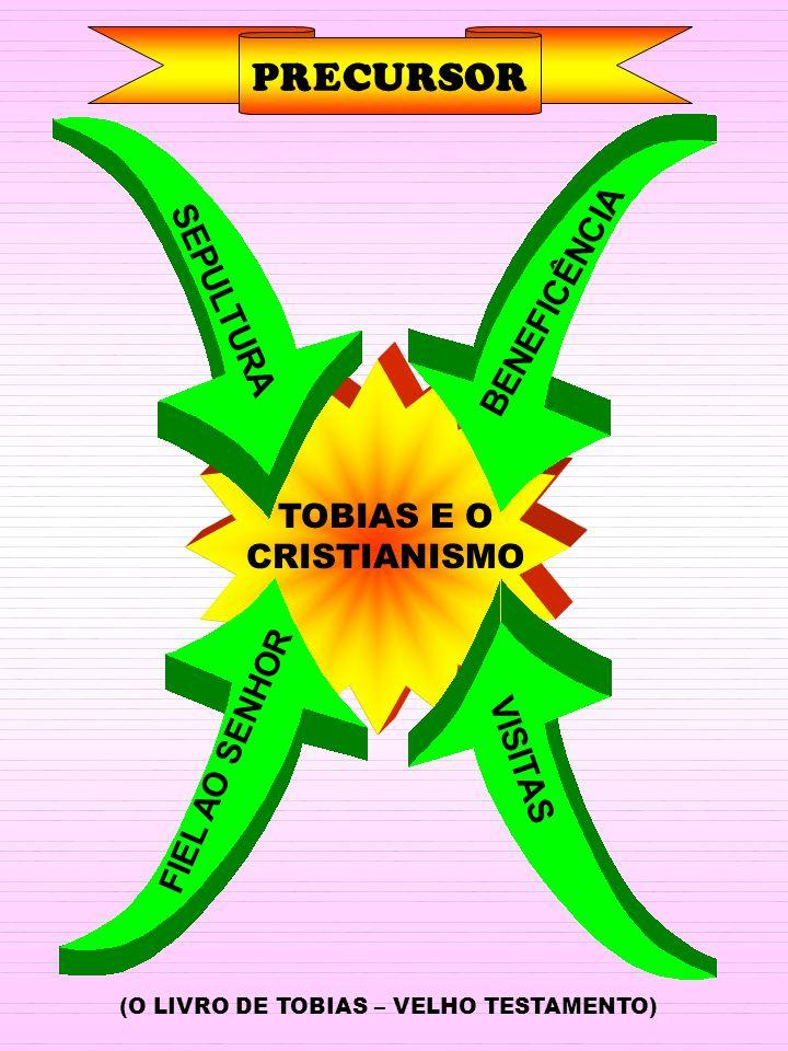 PRECURSOR TOBIAS E O CRISTIANISMO BENEFICÊNCIA VISITAS FIEL AO SENHOR SEPULTURA (O LIVRO DE TOBIAS – VELHO TESTAMENTO)