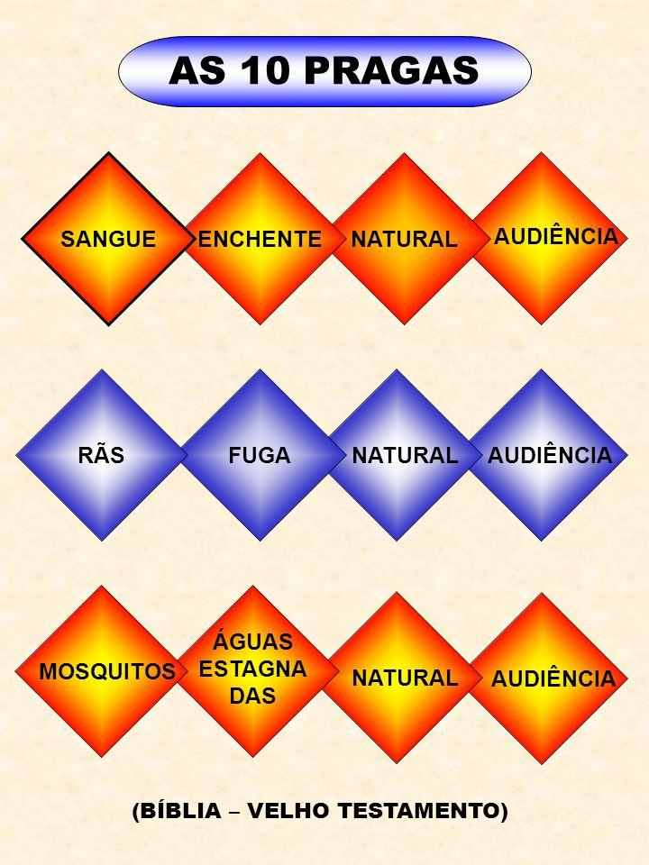 AUDIÊNCIA NATURAL AUDIÊNCIA NATURAL FUGA ENCHENTE SANGUE RÃS AS 10 PRAGAS AUDIÊNCIA MOSQUITOS ÁGUAS ESTAGNA DAS (BÍBLIA – VELHO TESTAMENTO)