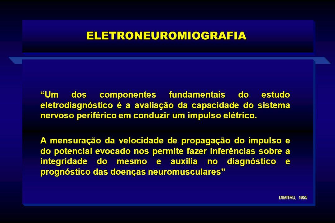 Um dos componentes fundamentais do estudo eletrodiagnóstico é a avaliação da capacidade do sistema nervoso periférico em conduzir um impulso elétrico.