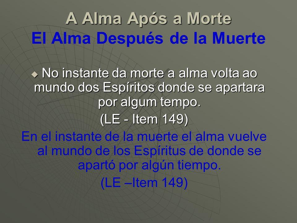 Separação da Alma e do Corpo Separação da Alma e do Corpo Separación del Alma y del Cuerpo O corpo quase sempre sofre mais durante a vida do que no momento da morte.