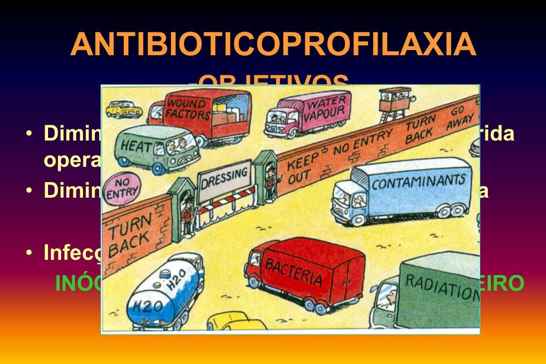 ANTIBIOTICOPROFILAXIA - DROGAS: CIRURGIA ORTOPÉDICA SíntesesStaphylococcus aureus, epid.