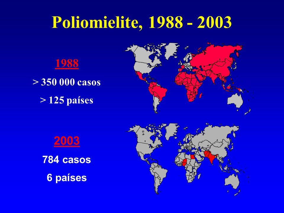 Uma parceria dos países com: Organização Mundial da Saúde Rotary Internacional Centro de Controle e Prevenção de Doenças dos Estados Unidos (CDC) Fundo das Nações Unidas para a Infância (UNICEF) Iniciativa Global pela Erradicação da Polio Atualização – maio 2006