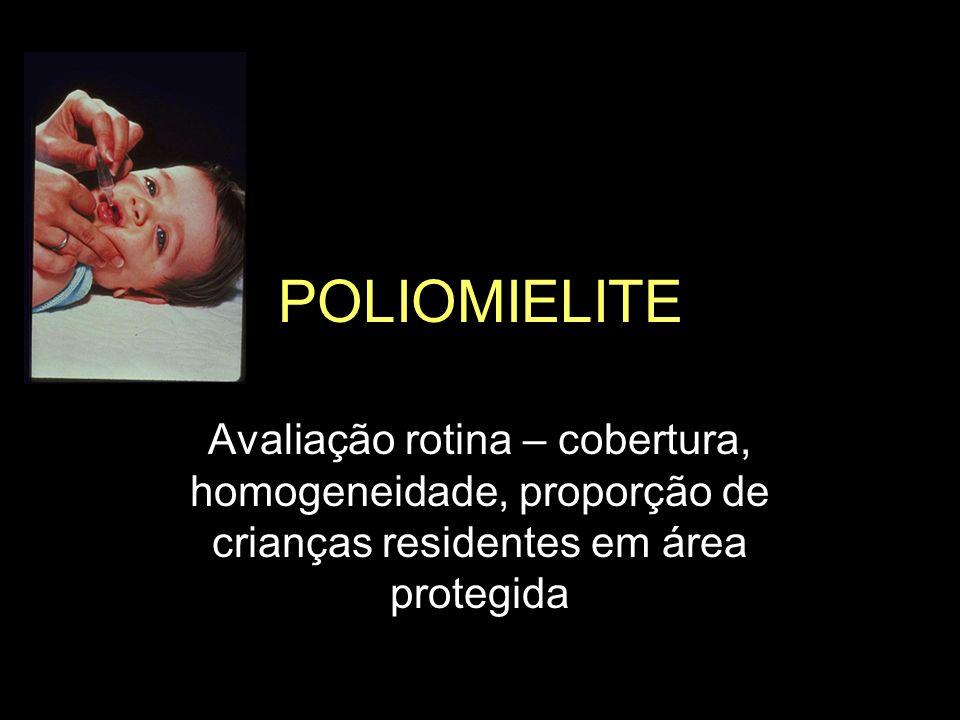 Vacina SCR - Cobertura vacinal - 12 a 23 meses Comparação Metas PAI Estado de São Paulo - 2005 Proporção (%)