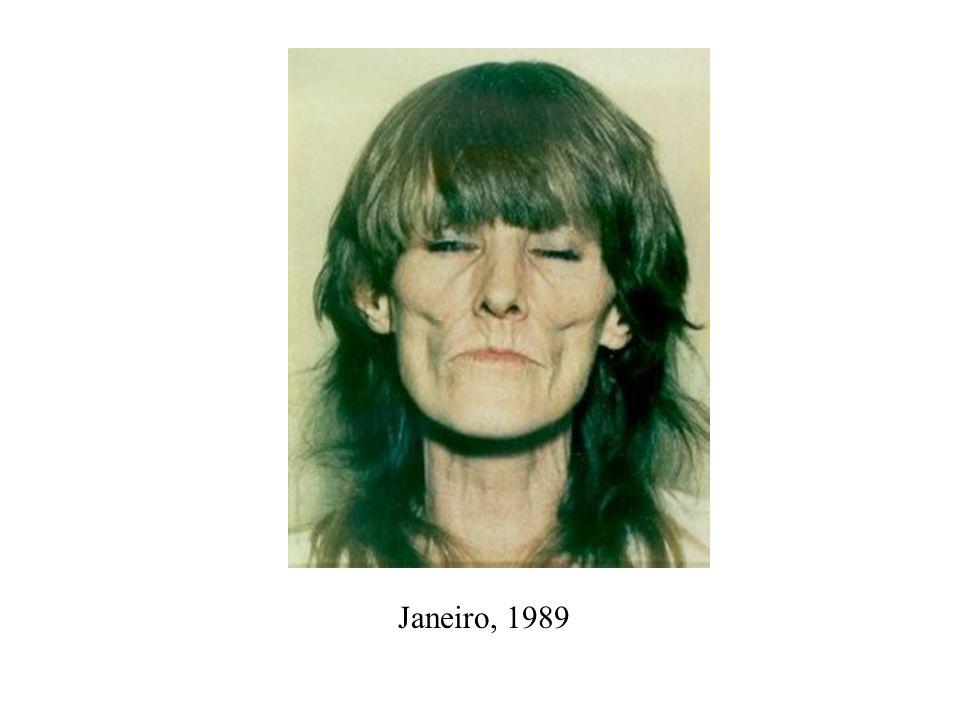 Março, 1989 OVERDOSE Falecida aos 38 anos, usuária de crack e heroína.