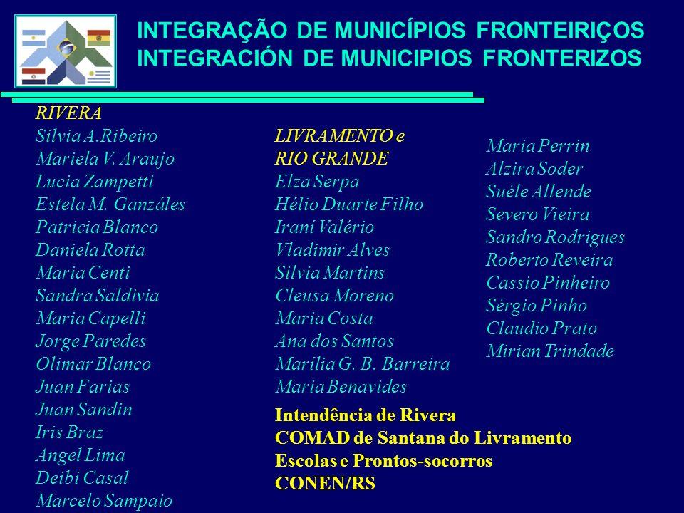 RIVERA Silvia A.Ribeiro Mariela V. Araujo Lucia Zampetti Estela M.