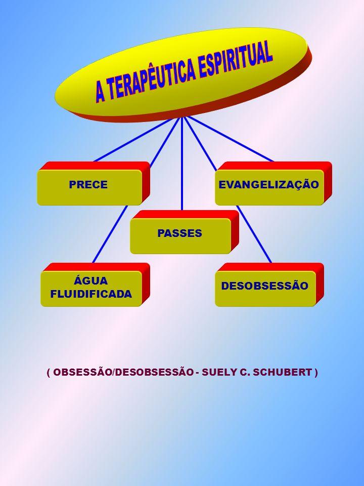 ( OBSESSÃO/DESOBSESSÃO - SUELY C. SCHUBERT ) DESOBSESSÃO PRECE ÁGUA FLUIDIFICADA PASSES EVANGELIZAÇÃO