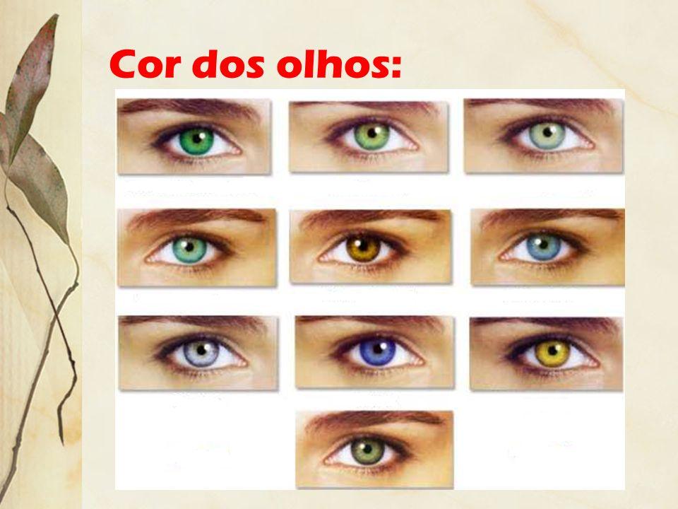 Cor dos olhos: