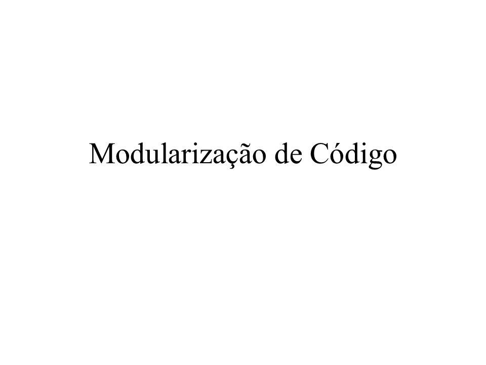 Modularização de Código