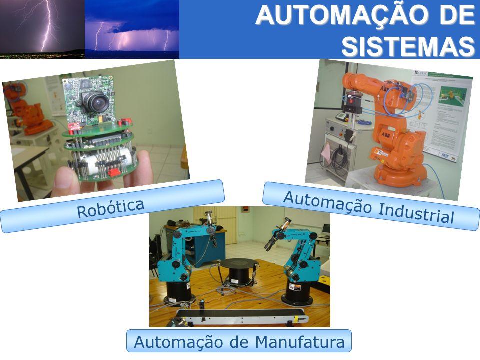 AUTOMAÇÃO DE SISTEMAS Automação de Manufatura Robótica Automação Industrial