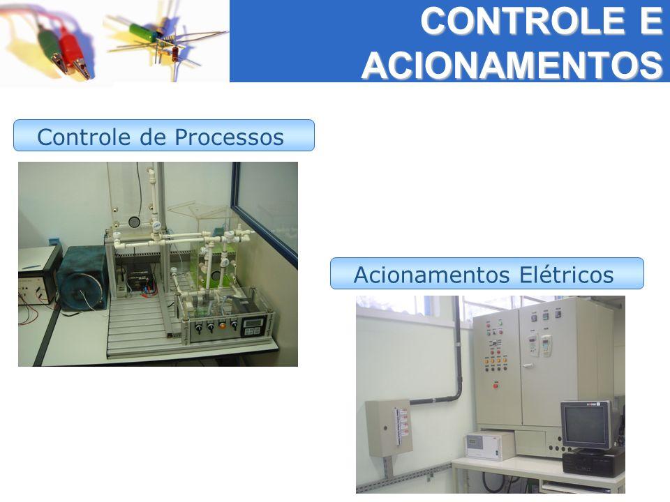 Controle de Processos Acionamentos Elétricos CONTROLE E ACIONAMENTOS