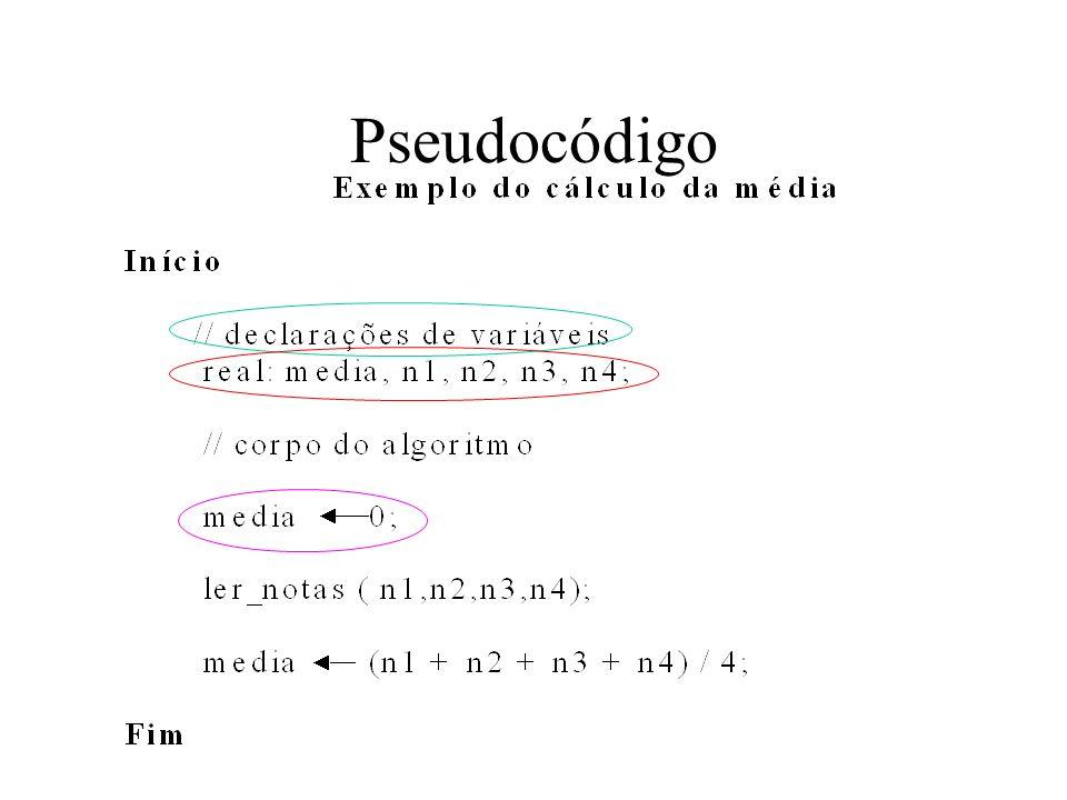 Pseudocódigo