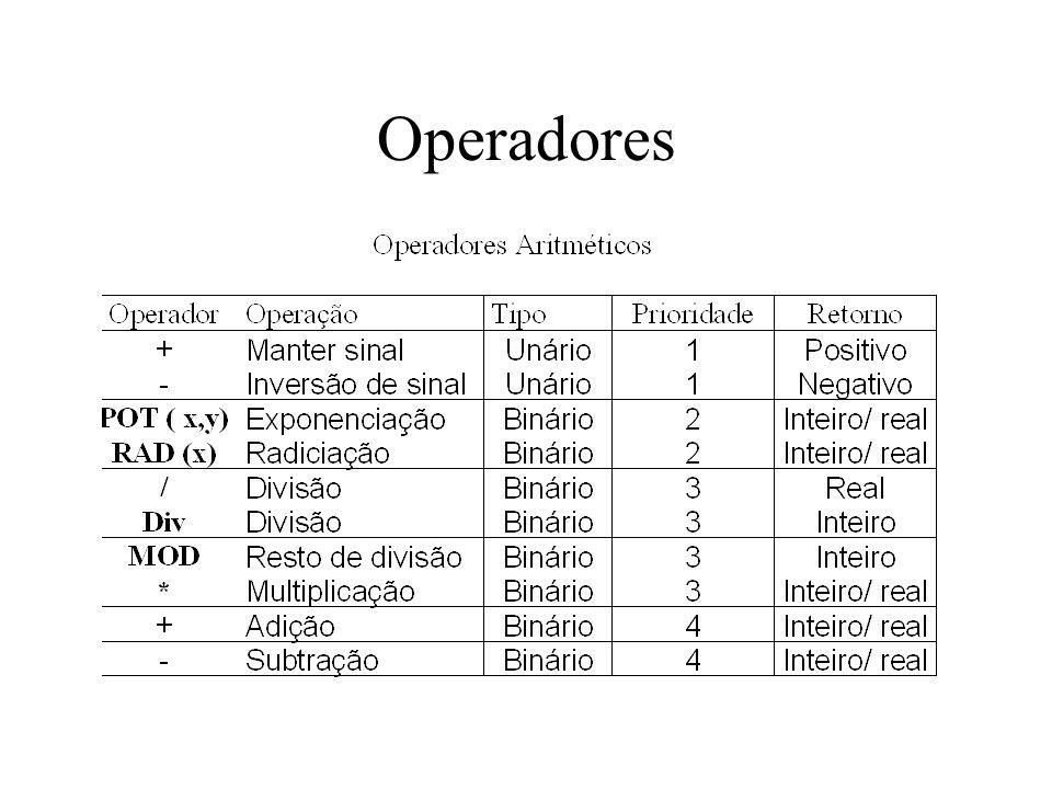 Operadores
