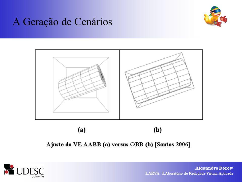 Alessandro Dorow LARVA - LAboratório de Realidade Virtual Aplicada A Geração de Cenários