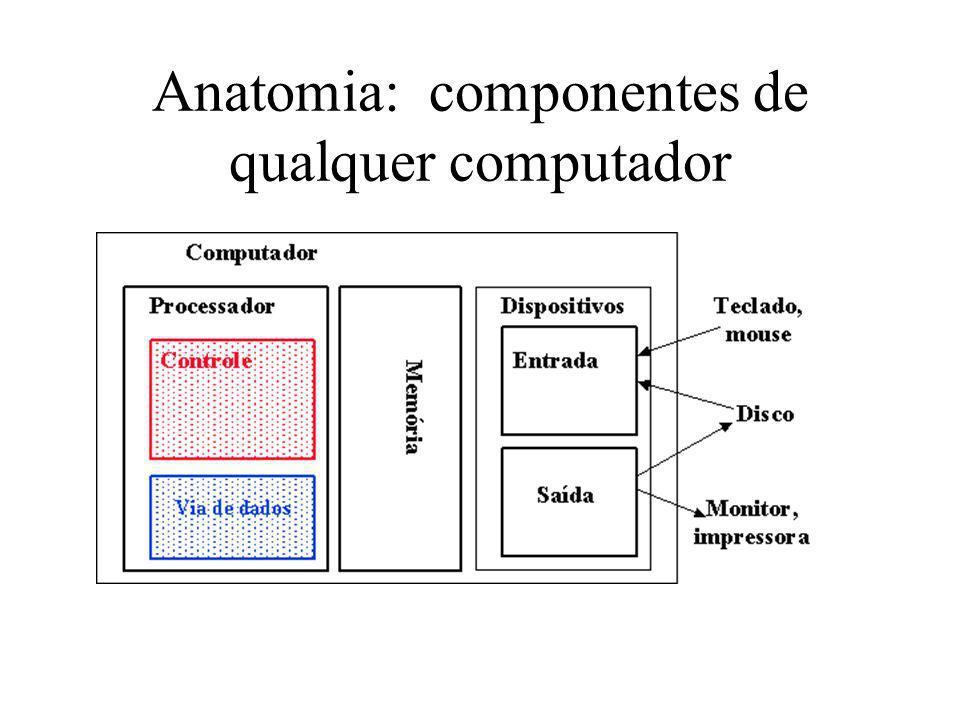 Anatomia: componentes de qualquer computador