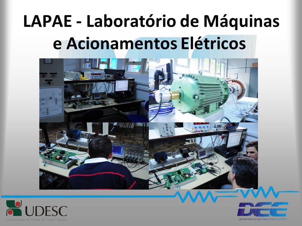 LAPAE - Laboratório de Máquinas e Acionamentos Elétricos