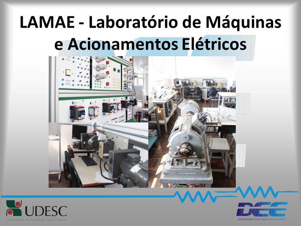LAMAE - Laboratório de Máquinas e Acionamentos Elétricos