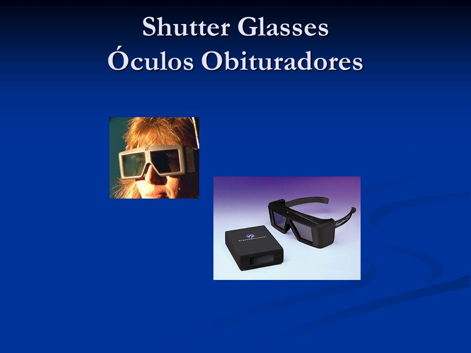 Shutter Glasses Óculos Obituradores