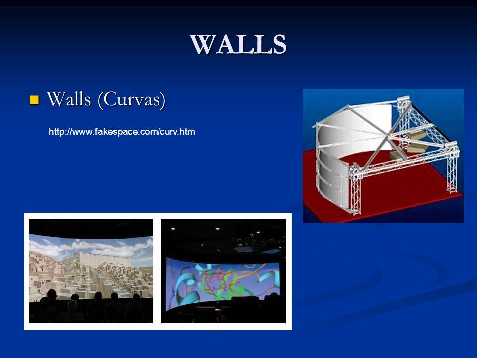 WALLS Walls (Curvas) Walls (Curvas) http://www.fakespace.com/curv.htm