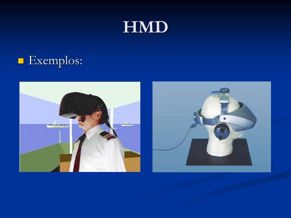 HMD Exemplos: Exemplos: