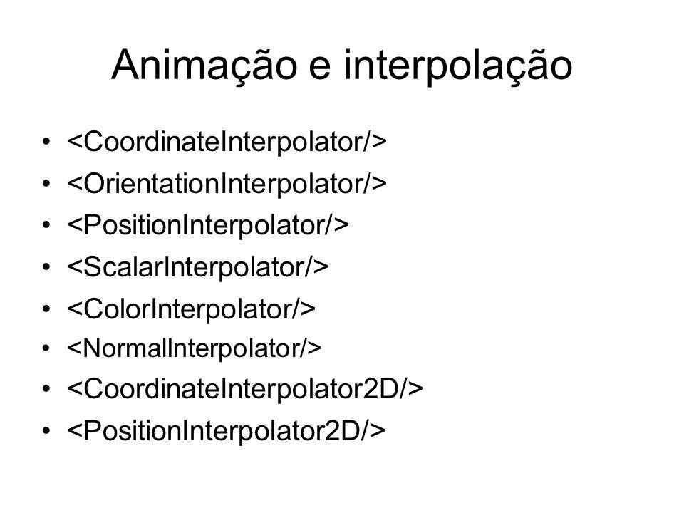 Animação e interpolação