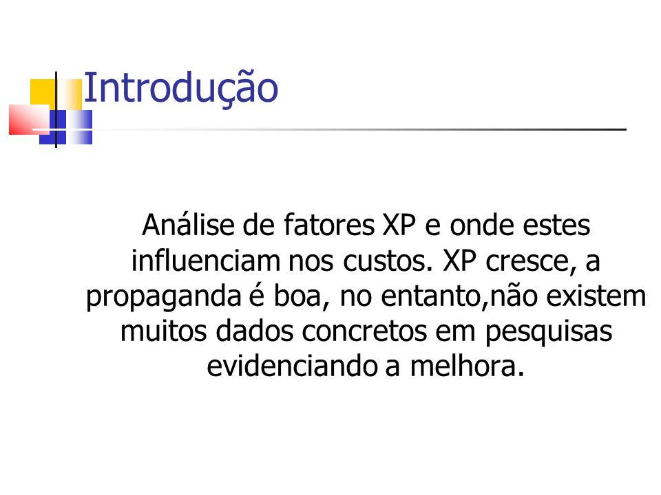 Introdução Crescimento de XP