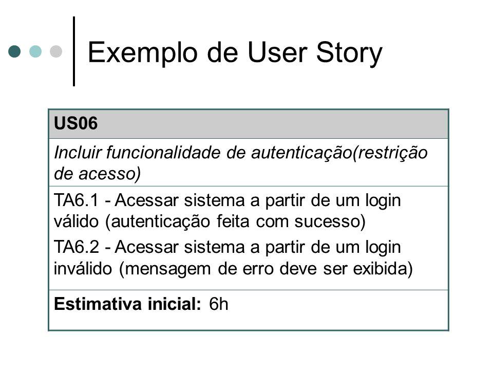 Referências Contra a Corrente.User Stories. Acessado em 22/10/2007.