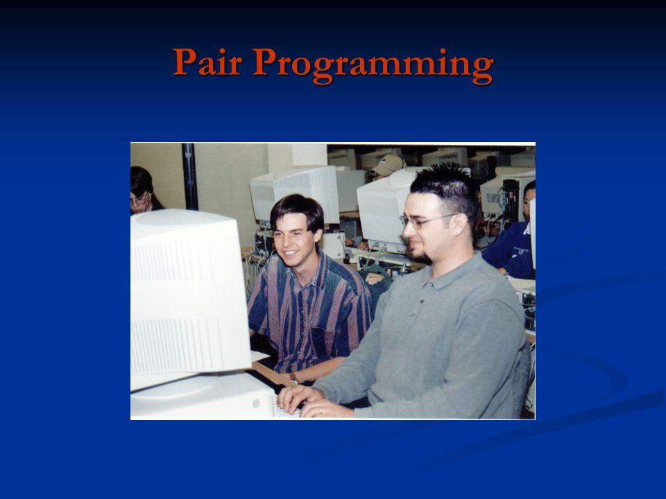 Não é pair programmig