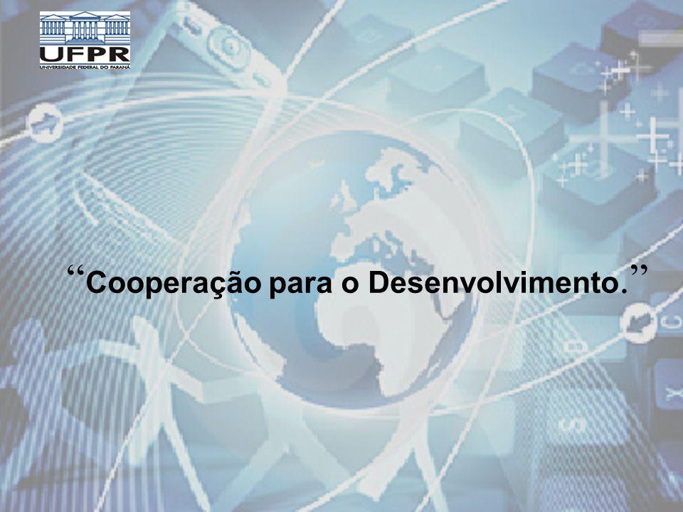 Cooperação para o Desenvolvimento.
