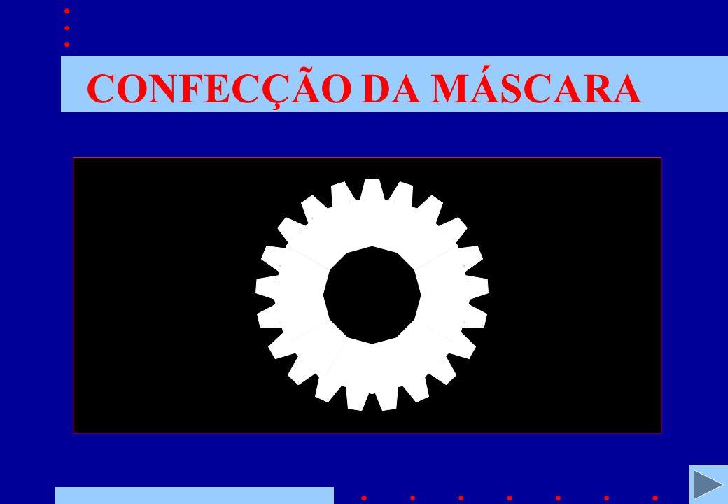CONFECÇÃO DA MÁSCARA