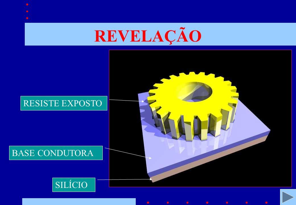 REVELAÇÃO RESISTE EXPOSTO BASE CONDUTORA SILÍCIO