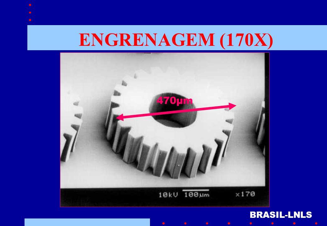 ENGRENAGEM (170X) 470µm BRASIL-LNLS