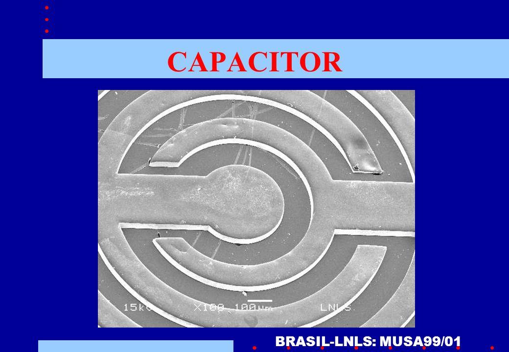 CAPACITOR BRASIL-LNLS: MUSA99/01