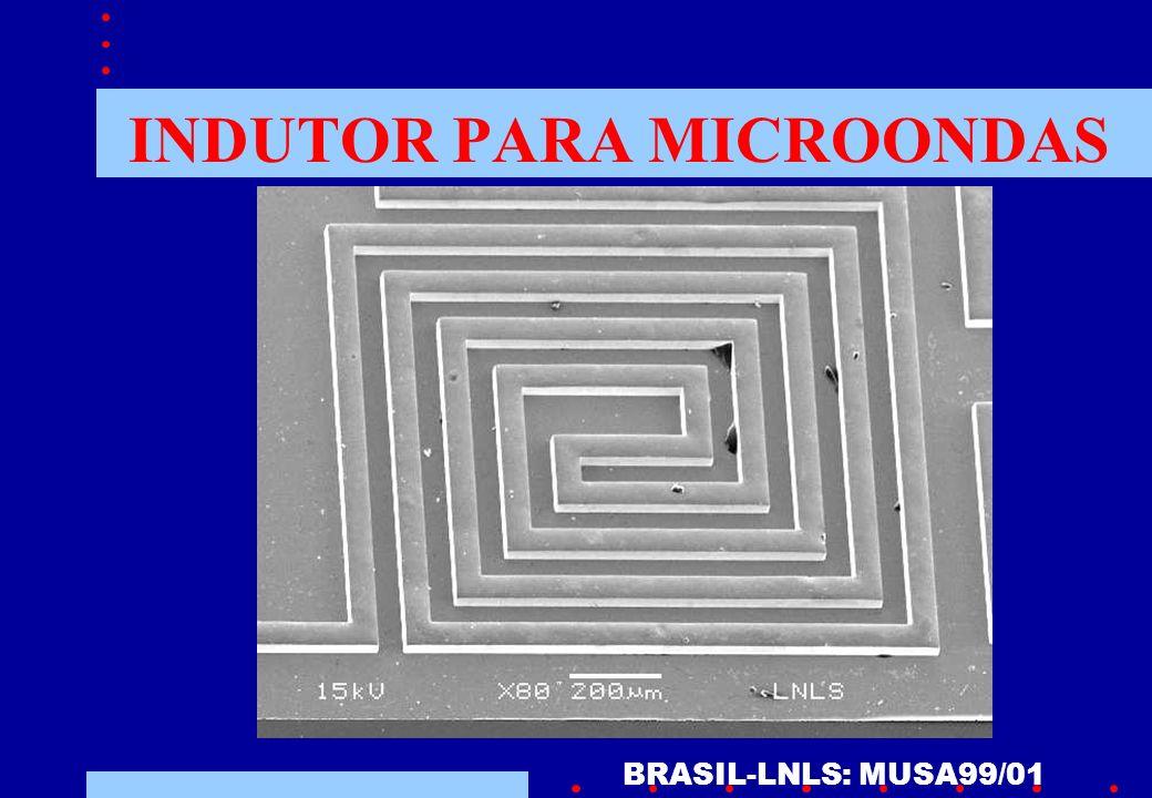 INDUTOR PARA MICROONDAS BRASIL-LNLS: MUSA99/01