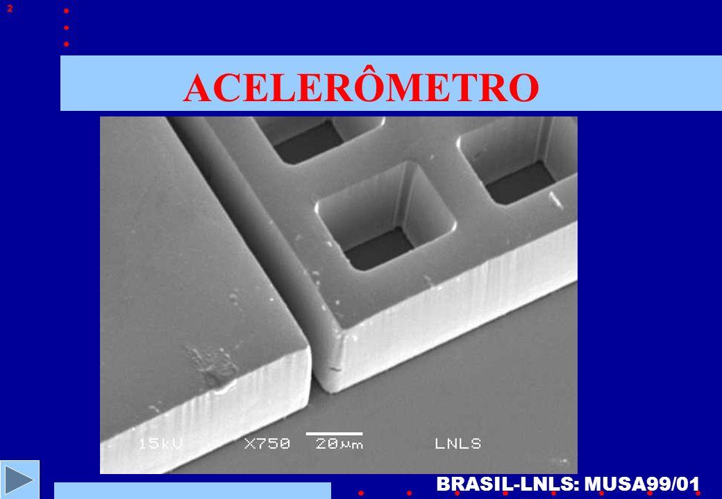 ACELERÔMETRO BRASIL-LNLS: MUSA99/01 2
