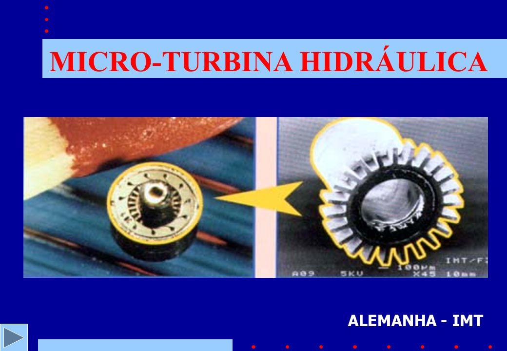 MICRO-TURBINA HIDRÁULICA ALEMANHA - IMT