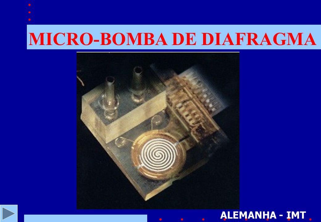 MICRO-BOMBA DE DIAFRAGMA ALEMANHA - IMT