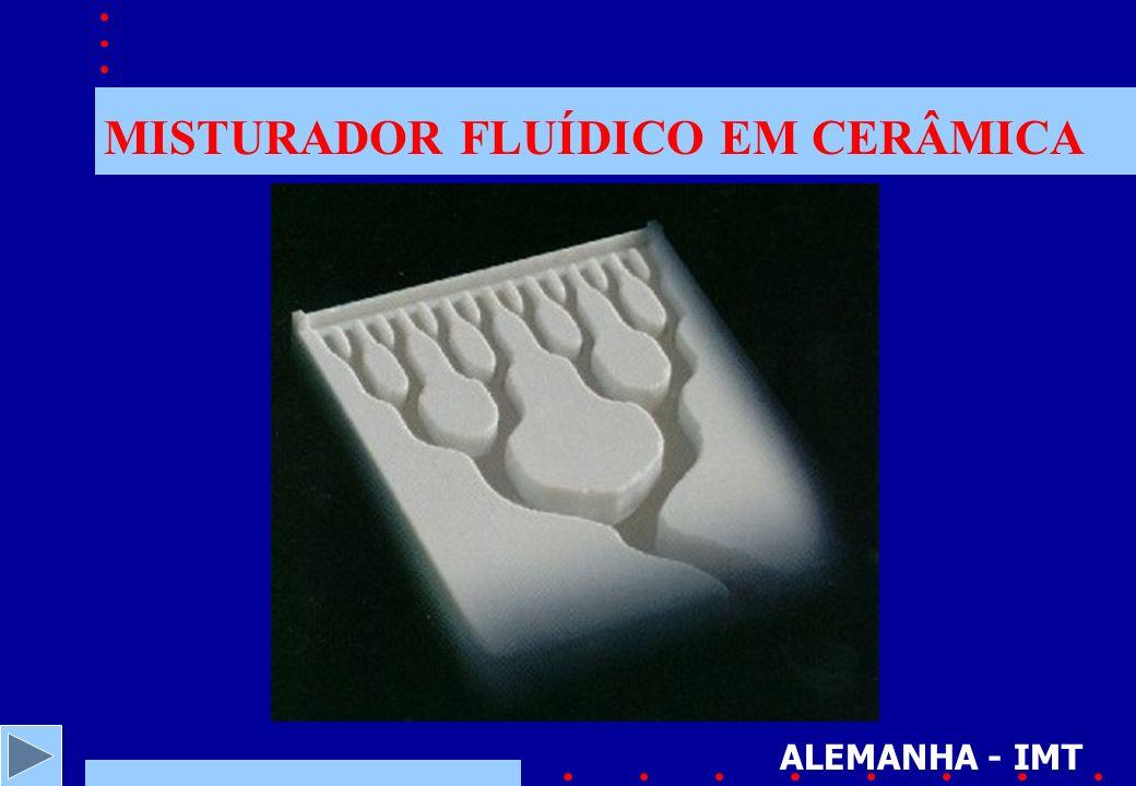 MISTURADOR FLUÍDICO EM CERÂMICA ALEMANHA - IMT