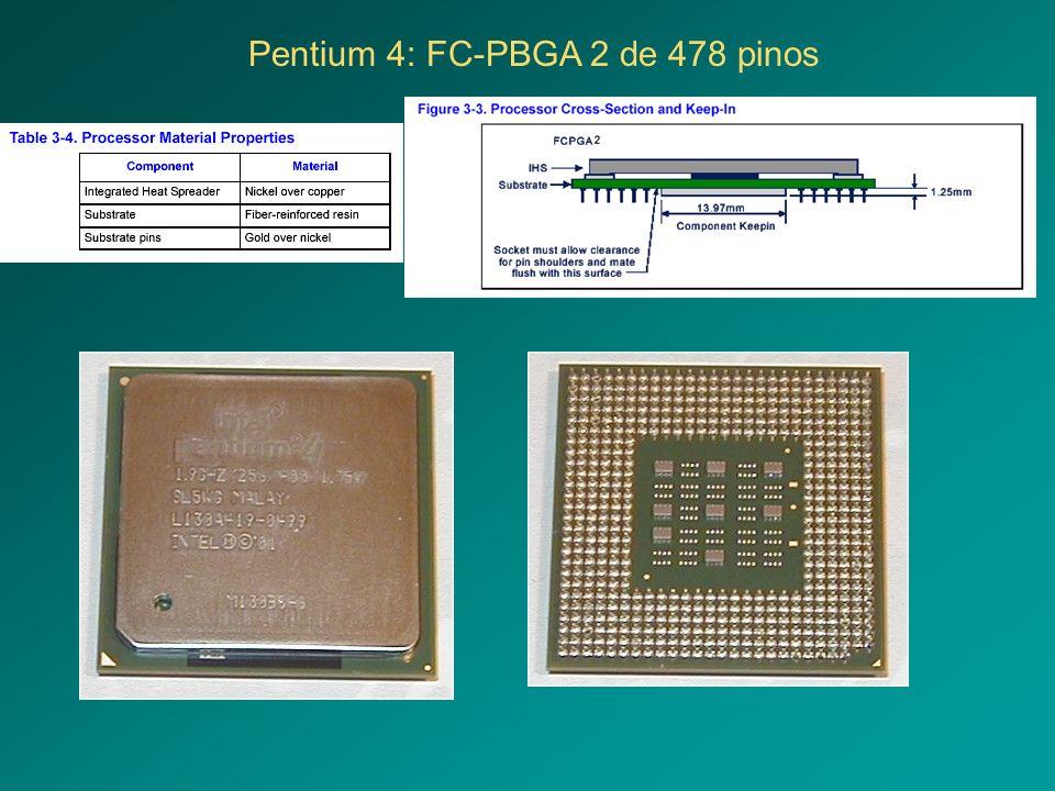 Pentium 4: FC-PBGA 2 de 478 pinos