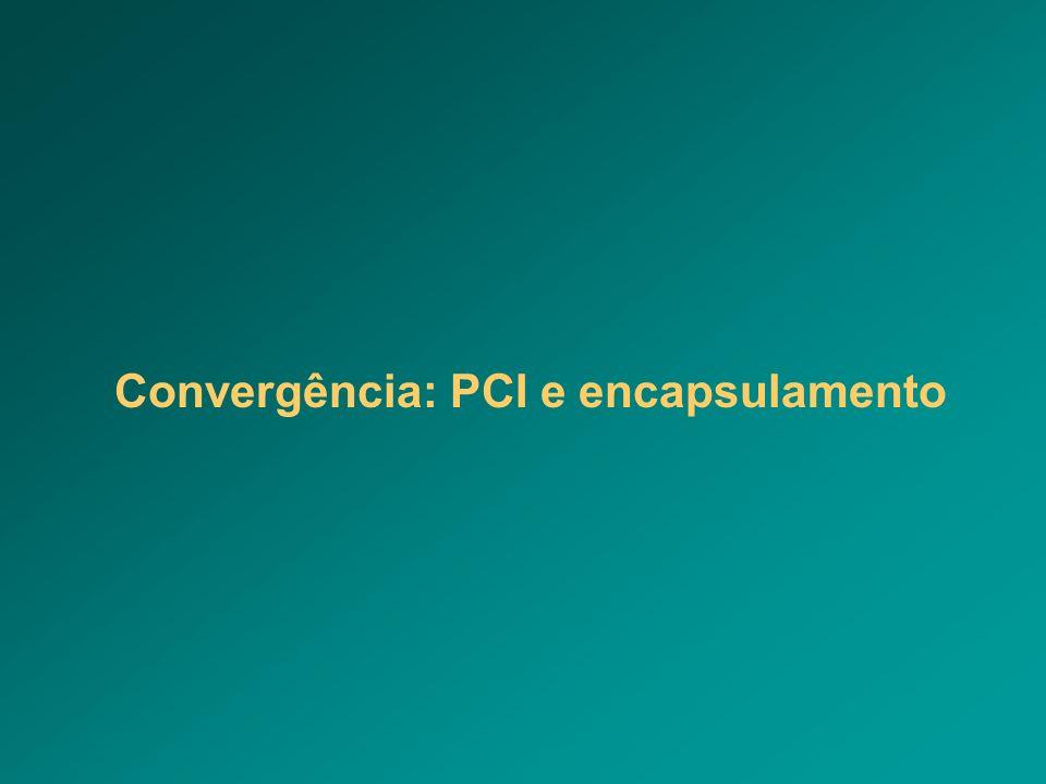 Convergência: PCI e encapsulamento