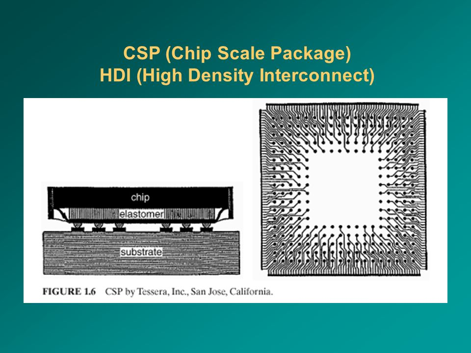 CSP (Chip Scale Package) HDI (High Density Interconnect)