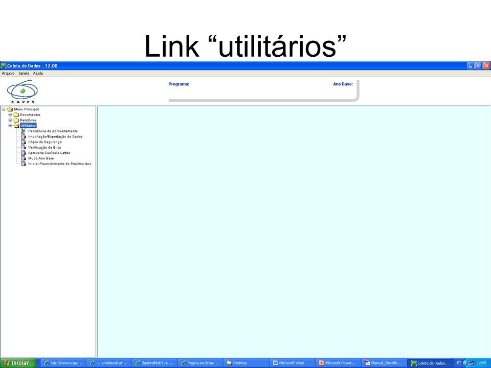 Link utilitários