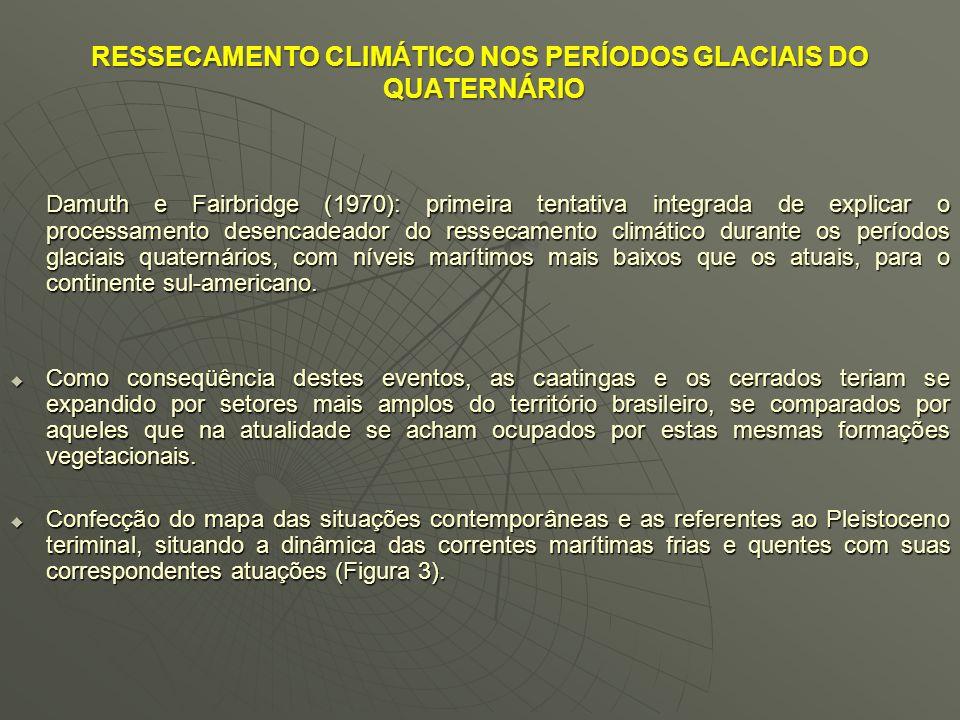 Figura 2 – Áreas nucleares/Brasil (AbSaber,1965 )