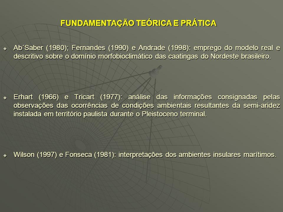 Figura 5 – Evidências litológicas e biológicas no estado de São Paulo, através da aferição em campo das linhas de pedras expostas nos barrancos; dos e
