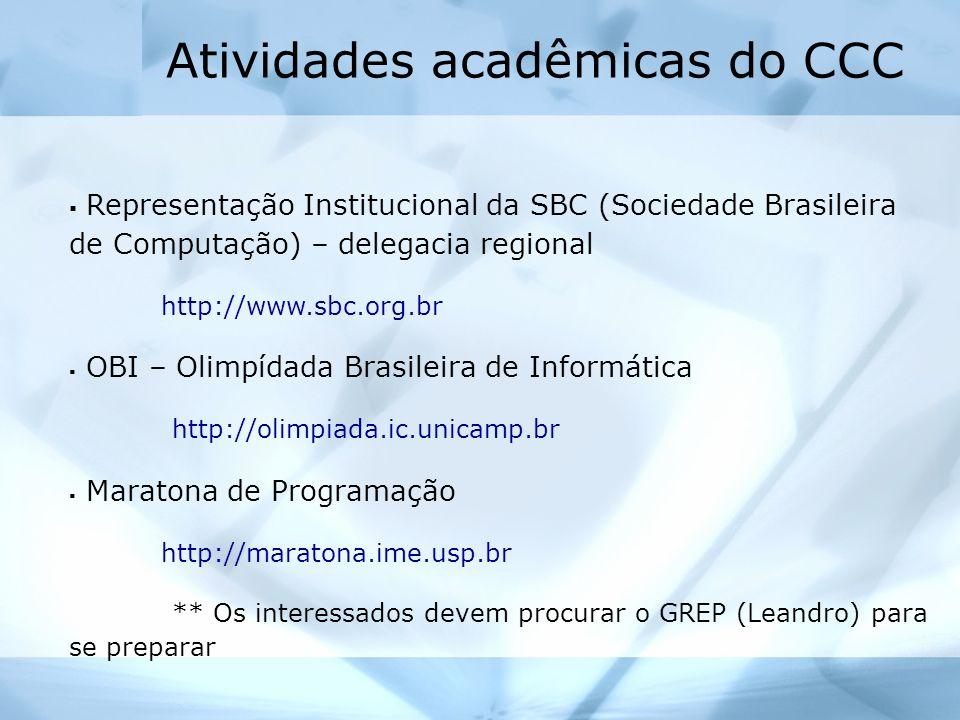 ERBASE – Escola Regional de Computação Bahia-Sergipe WEIBASE – Workshop de Educação em Informática WTICG – Workshop de Trabalhos de Iniciação Científica e de final de Curso Próxima ERBASE: Abril de 2005 / Local: UNIFACS