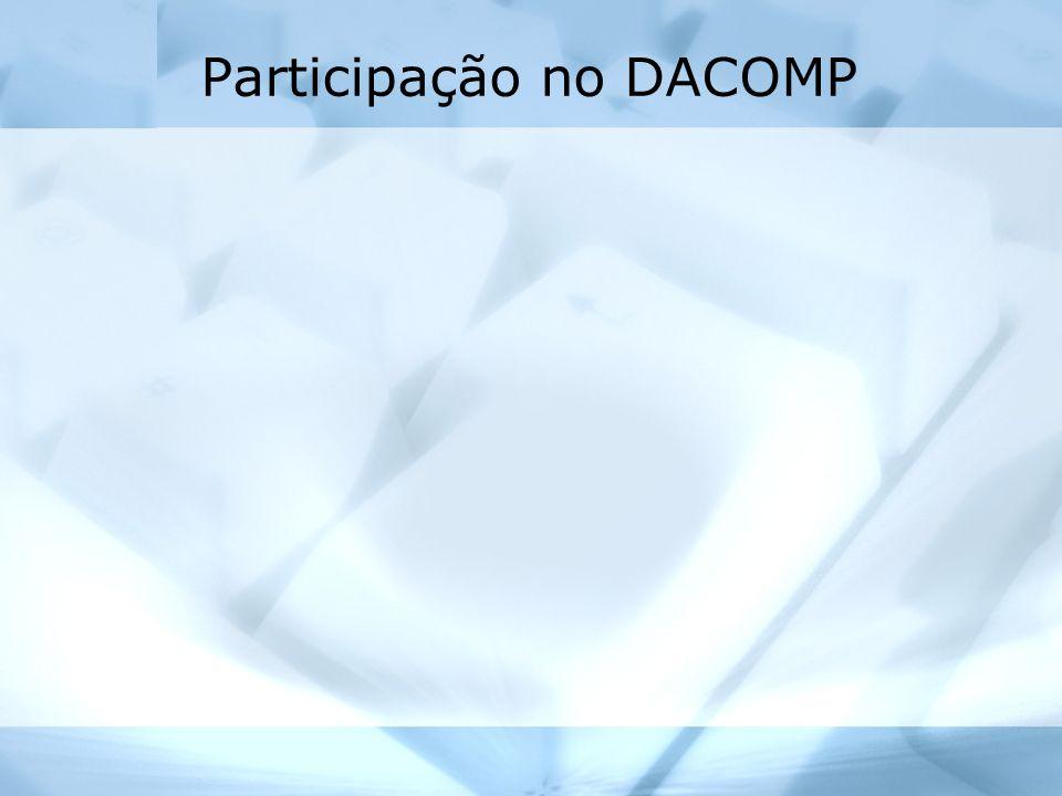 Participação no DACOMP